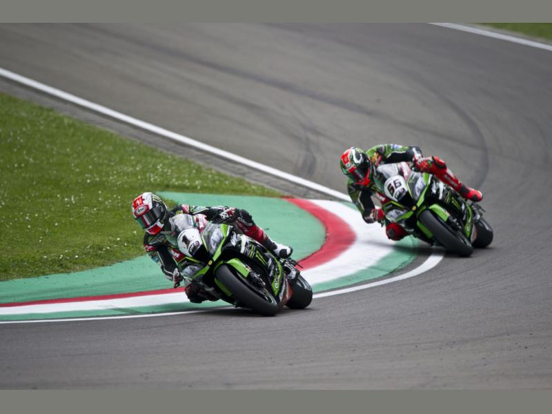 Jonathan Rea Claims His Second Podium Finish Of The Weekend At Imola