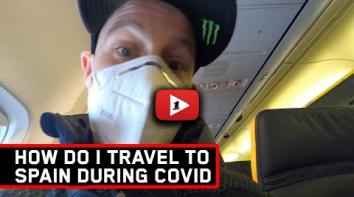 Embedded thumbnail for Travelling to Spain during lockdown!