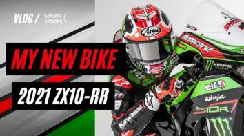 Embedded thumbnail for MY NEW BIKE - 2021 ZX-10RR