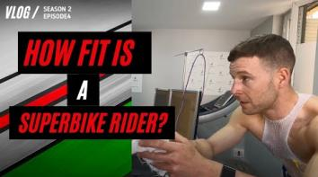 Embedded thumbnail for HOW FIT IS A SUPERBIKE RIDER?